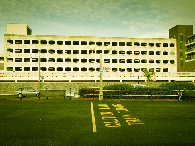 52 postcards - week 3, Grafton Car Park, Worthing