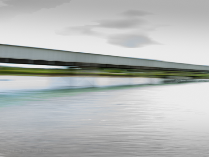 52 postcards - week 23, Bridge blur