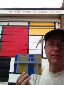 Mark Boyd's homage to Mondrian