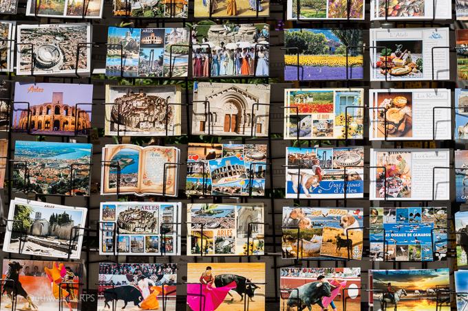52 postcards - week 28, Postcards from Arles