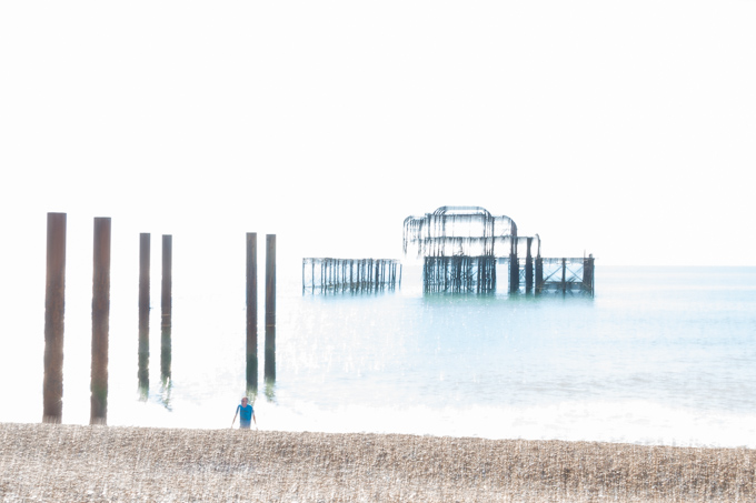52 postcards - week 40, West Pier impression